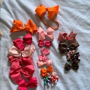 Lot of Toddler bows